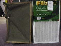 Angie changed the 312 furnace filter