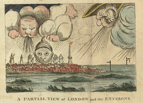 A Partial View of London and the Environs 1813 (Villanova U)