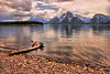 Timeless Shoreline (Jeff Clow) Tags: lake nature landscape bravo wyoming grandtetons jpeg colterbay grandtetonnationalpark naturesfinest jeffclow shoreine 1exp ©jeffrclow