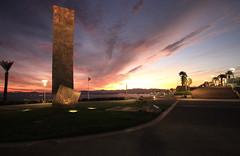 Beppo (letoxic) Tags: sunset sculpture canon square var 1022 beppo saintraphael 40d