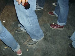 dirty boots (gimme a pabst) Tags: beer boots jeans converse punks skinheads
