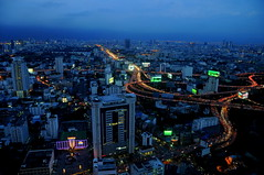 View from Baiyoke Sky Hotel