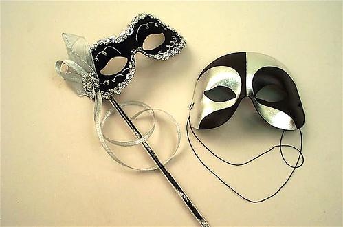 masquerade ball stick masks