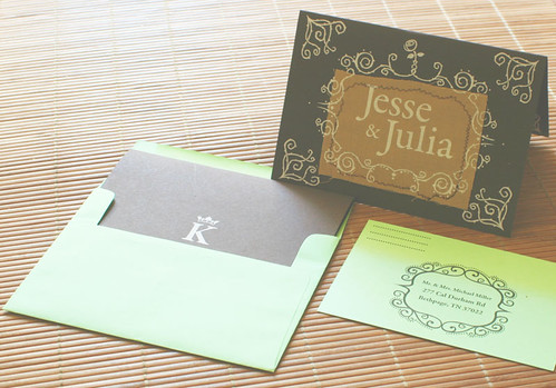 Outdoor Wedding Invitations And RSVP Cards