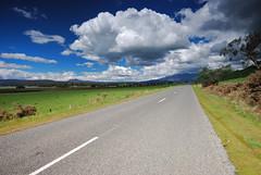 Blessington road (dan/fromtas) Tags: road blue sky cloud nature field clouds landscape nikon country sigma australia wideangle tasmania polarizer pro1 hoya paddock cokin sigma1020 neutraldensity d80 platinumpeaceaward