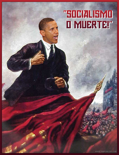El Presidente Barry Hussein Obama - The November Socialist Revolution!