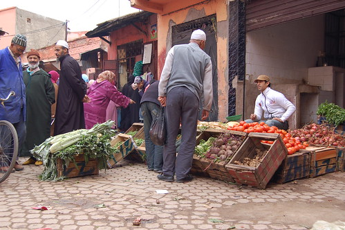 Fruit & Veg for sale in the Kasbah
