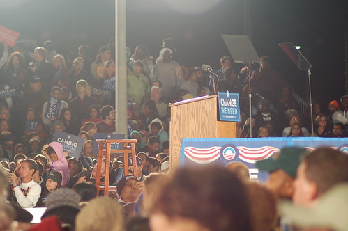 Obama/Clinton Midnight Early Voting Rally in Kissimmee Florida