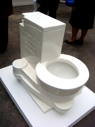 wright guggenheim toilet