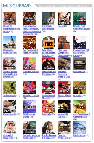 RoyaltyFreeMusic.com -- Music Library