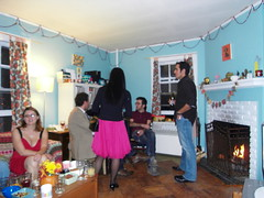 party scene. (stephiblu) Tags: november autumn party guests fun nj montclair 2008 autumnball autumnball2008 tichenortichenors