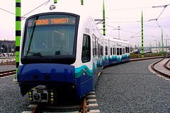 light rail in Seattle (by: the Lebers, creative commons license)