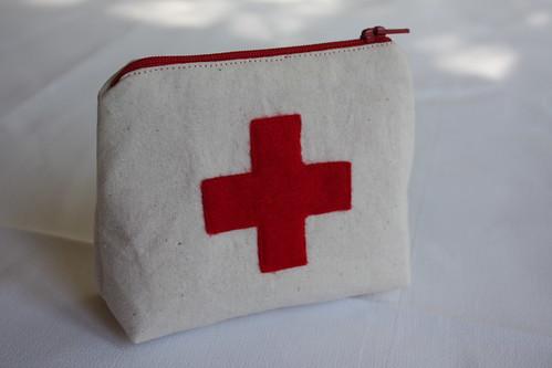 In case of emergency pouch