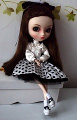 Maria Isabella de cabelo liso!