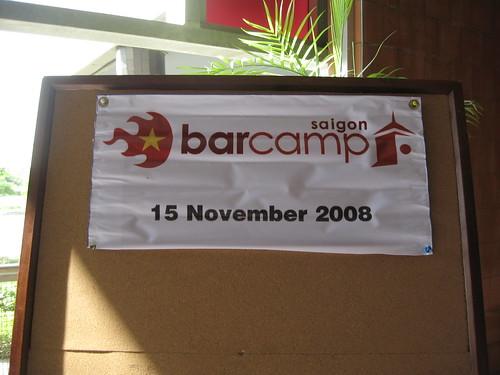 BarcampSaigon Stand