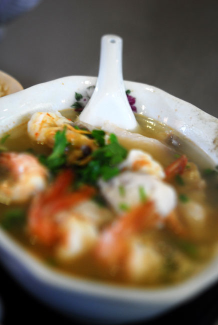 Fish and Prawn soup - DSC_6394