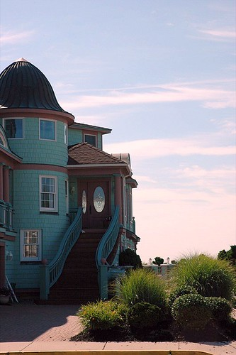 This is a picture of my favorite house on the island we stay on at the Jersey Shore.