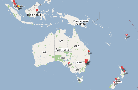 WiMAX Deployment in Oceania