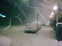 Snowstorm, Lapinlahdenkatu
