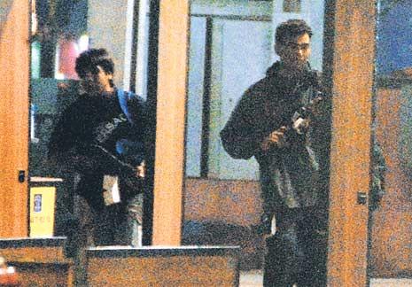 terrorists at Mumbai with AK 47 by dotcompals.