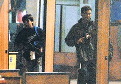 terrorists at Mumbai with AK 47
