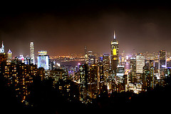 Victoria Peak night view