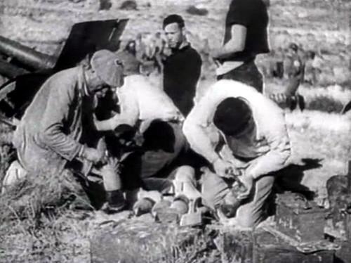 Artillería republicana dispara sobre Toledo en 1936