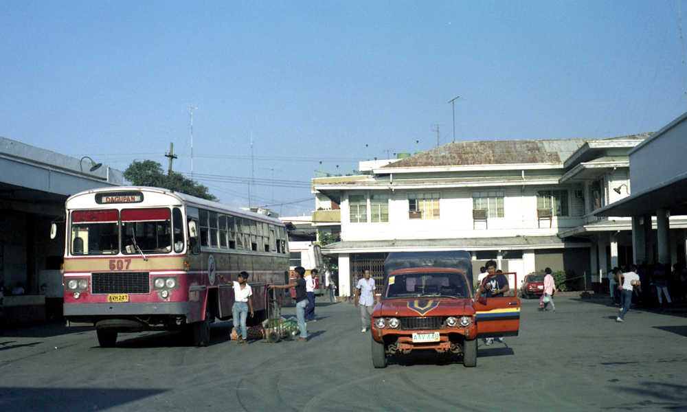 Pantranco M.A.N 16.290 AVH-247 (507) at bus terminal in Dagupan, Pangasinan, Philippines.
