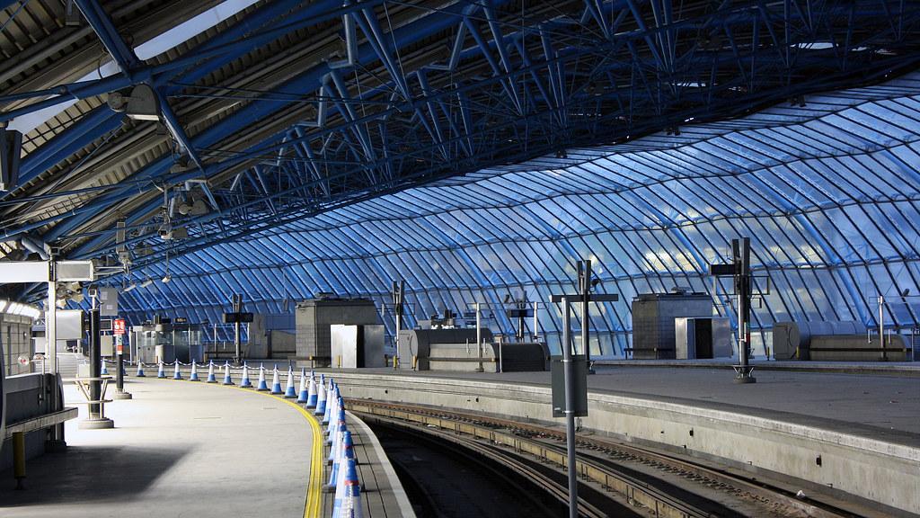 Platform 20 at Waterloo station