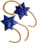 Star of David Napkin Rings (Courtesy Family Fun)