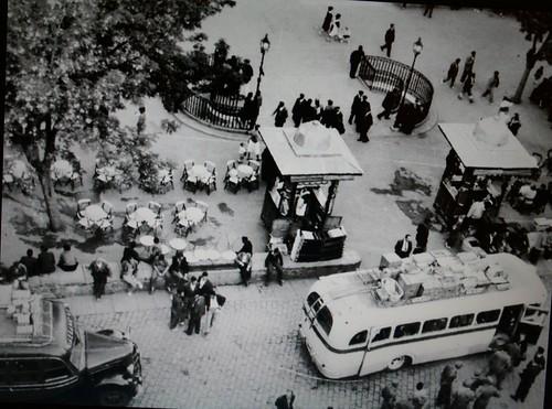 Plaza de Zocodover, Toledo, a mediados del siglo XX