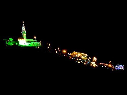 Foto tomada desde el Mirador de la Torre Colpatria. Monserrate por Pablo Torres Méndez.