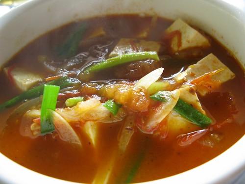 Tofu in tomato at Thao Son Quan, Nimh Binh, Vietnam