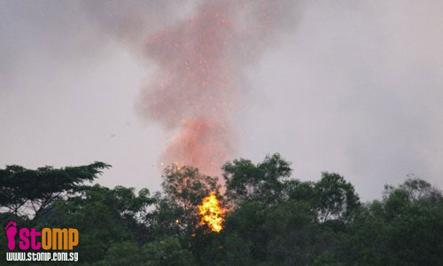 Bushfire starts despite earlier rain
