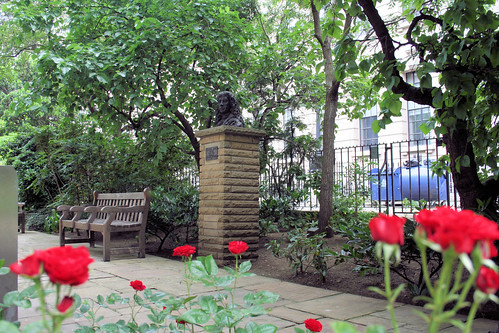Samuel Pepys Watches over the rose guarden