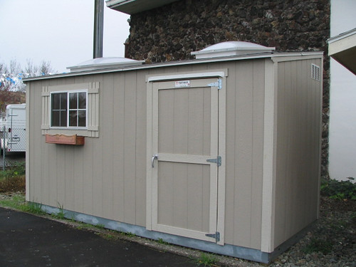 diy open into tuff a shed tough solar workshop transforming sheds prefabricated powered