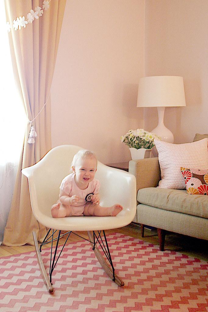 Twelve Months Old (Eleanor's Monthly Photo)