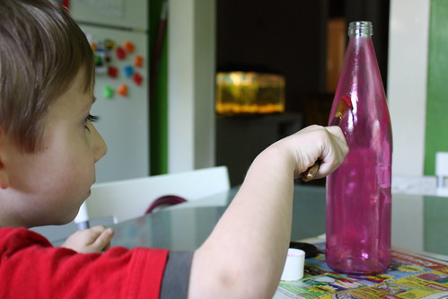 Kids Can Help with Jar Painting