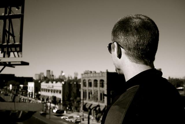 Rooftop gazin'