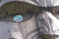 Pou Face (Cozalcoatl) Tags: family newzealand holiday beach northisland 2011 karekarebeach