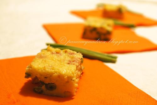 torta di patate e fagiolini
