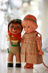 Once you accept the fact that you're not perfect, then you develop some confidence.  ~Rosalynn Carter (The Dolly Mama) Tags: friends vintage toy toys doll quote antique german hedgehog rosalynncarter perfectionism machelspence