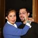Miguel Medina y Lina Morgan