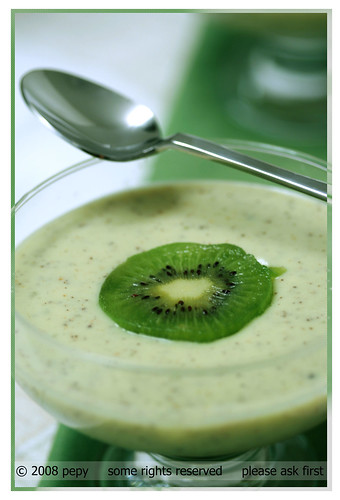 Kiwi Mousse (Closer View)