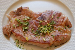 Pan Fried Pork Chop with Gremolata