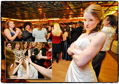You Wanna Piece of Me? (Ryan Brenizer) Tags: wedding newyork fun layout groom bride march nikon funny flash 2008 dobbsferry d3 westchester weddingalbum sb800 ryanbrenizer strobist 1424mmf28g missyandcharlie