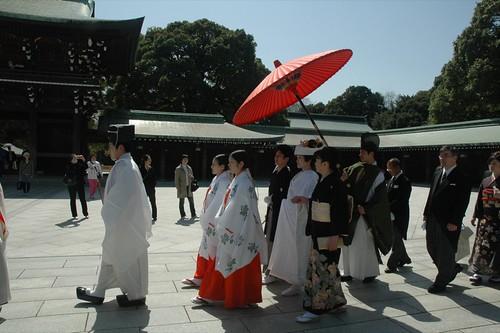 Meiji Shrine Shinto Wedding