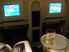Air France (LAXFlyer) Tags: cabin service airfrance businessclass boeing777300er lespaceaffaires