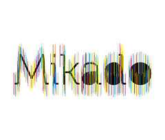 mikado logo (frischmilch) Tags: black colors yellow logo deutschland typography design cyan magenta identity font mikado museo logodesign cmyk brandstripes