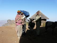 Loading the donkeys (chris_cornelis) Tags: ethiopia wollo tesfa mequatmaryam